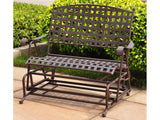 Iron Porch or Patio Double Glider