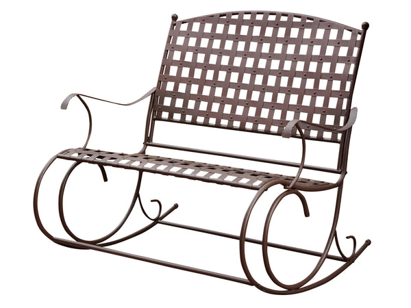 Santa Fe Iron Porch Double Rocker for only $149