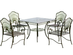 Sun Ray 5 Piece Iron Dining Set for only $519