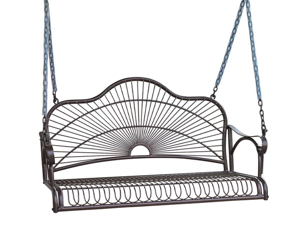 Sun Ray Iron Porch Swing for only $158