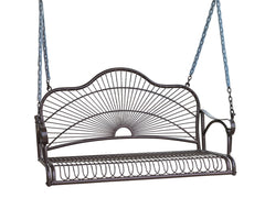 Sun Ray Iron Porch Swing for only $185