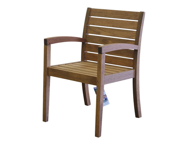 Timbo Vila Rica Patio Hardwood Chair with Arms for only $96