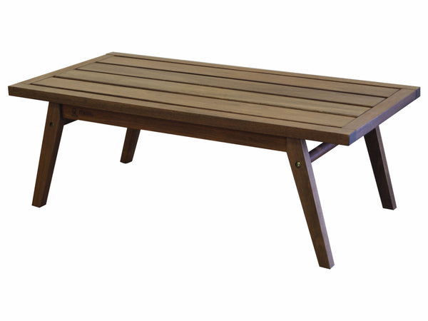 Timbo Mestra Solid Hardwood Patio Coffee Table