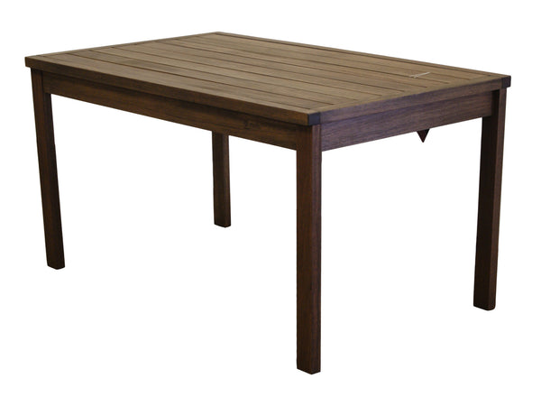Timbo by Butzke, Hardwood Rectangular Dining Table