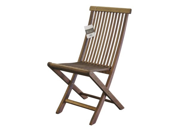 Timbo by Butzke, Mestra Hardwood Folding Chair - Stacks for Easy Storage