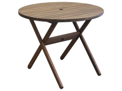 Timbo Mestra Patio Round Folding Table for only $119