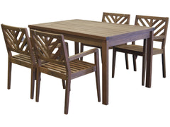 Timbo Mestra 5 Piece Dining Set for only $518