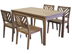 Timbo Mestra 5 Piece Dining Set for only $475