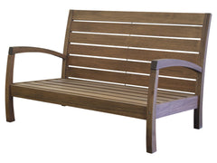 Timbo Vila Rica Patio Hardwood 2 Seat Loveseat with Arms for only $225