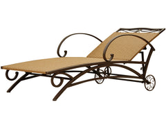 Valencia Iron Chaise Lounge for only $215