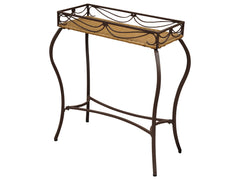 Valencia Iron Rectangular Plant Stand for only $75
