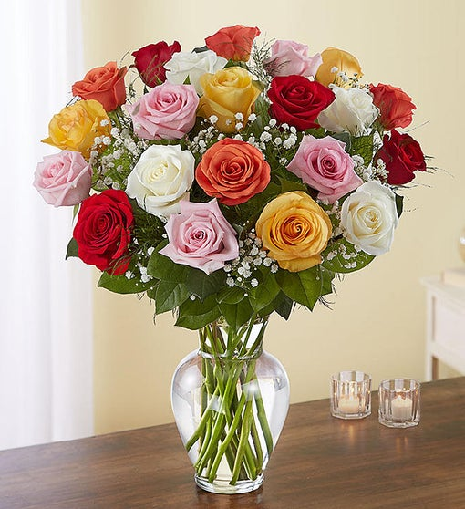 Ultimate Elegance™ 24 Long Stem Assorted Roses