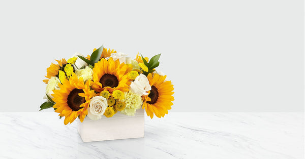 Sweet as Lemonade™ Sunflower Bouquet