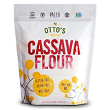Otto's Naturals Cassava Flour (5 Lb. Bag) Grain-Free, Gluten-Free Baking Flour - Made From 100 % Yuca Root - Certified Paleo & Non-GMO Verified All-Purpose Wheat Flour Substitute
