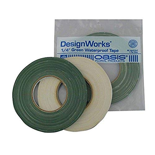 "Oasis 1/4""x60yd Green Waterproof Tape"