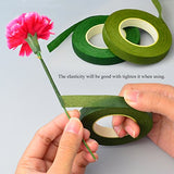"Bantoye 6 Pcs Floral Arrangement Tool Kit, 4.7"" Wire Cutter, 3 Rolls Floriculture Paper Tapes 26 Gauge Floral Wire & 16 Inch Floral Stem Wire for Bouquet Stem Wrap Florist"