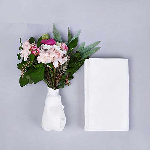 BBC Flower Water Absorbent Cotton, Floral Water Tube Replacement, 11.8X118 inch