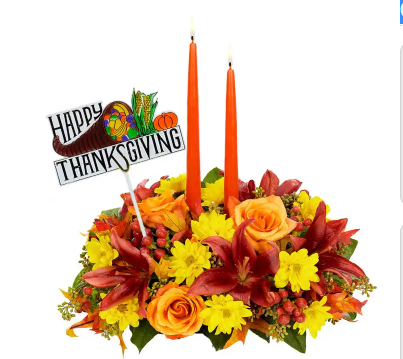 Happy Thanksgiving Wishes Centerpiece