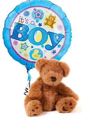 It's a Boy Bear and Balloon