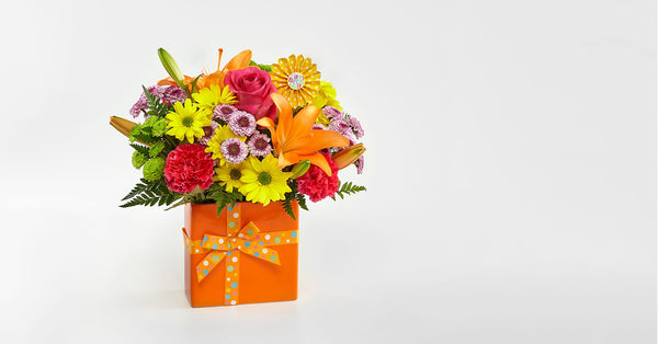 Set to Celebrate™ Birthday Bouquet - VASE INCLUDED