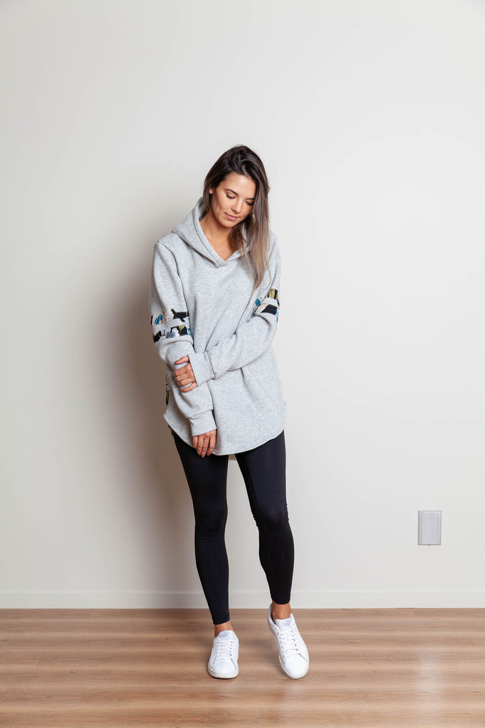 AVERY SIDE HOODY