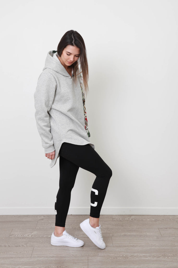 AIMEE ONE SLEEVE HOODY