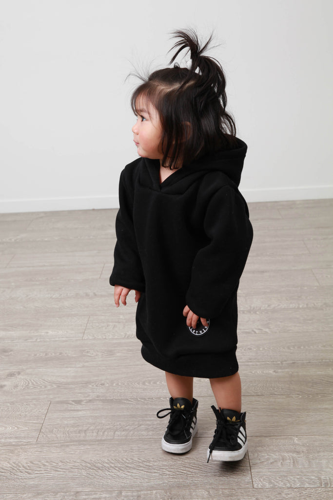 HARBOUR BLACK HOODY KIDS