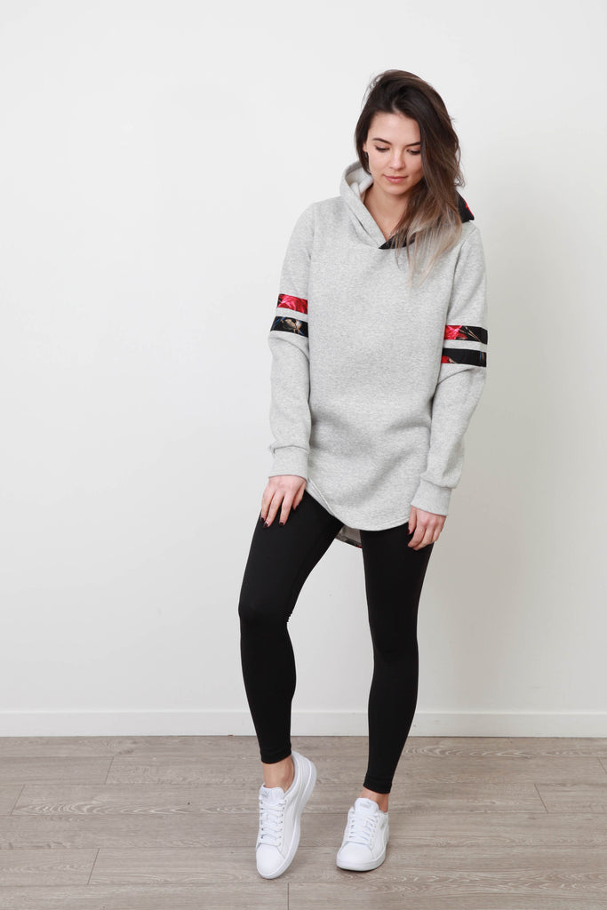 MILA BASEBALL HOOD (LIMITED EDITION) GREY