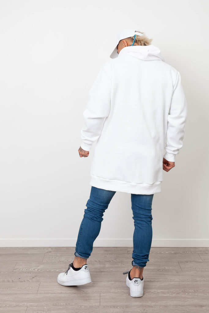 HARBOUR BASIC HOODY WHITE