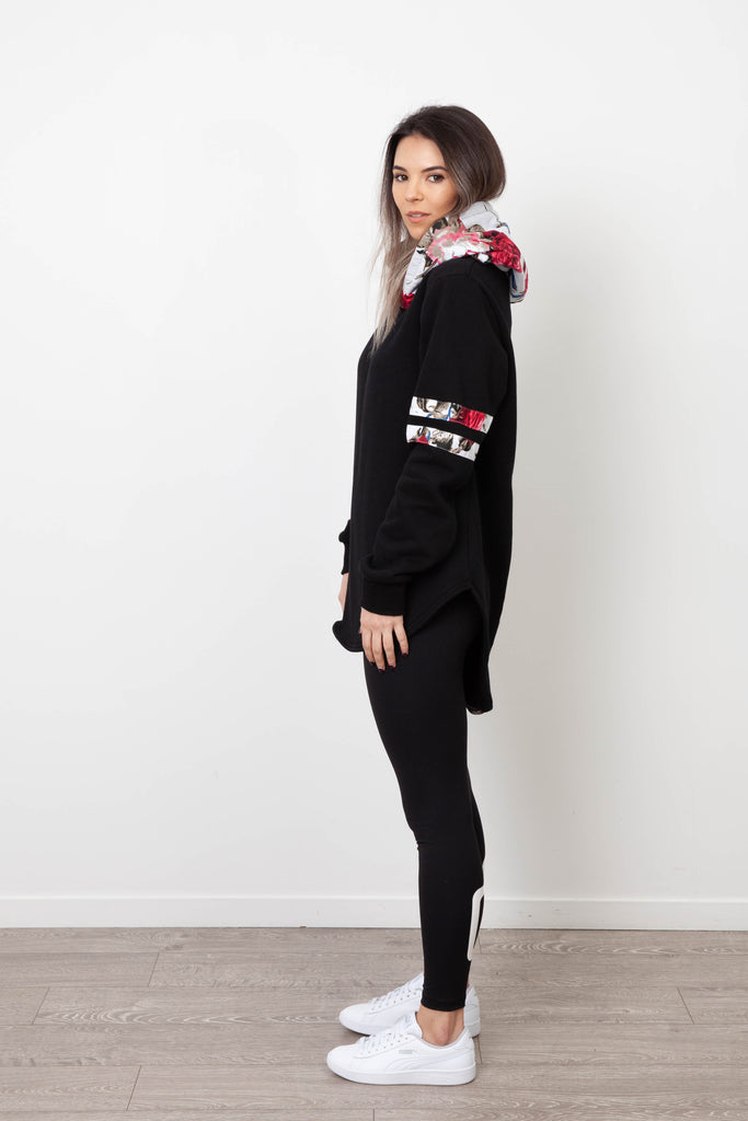 MILA SNOW BASEBALL HOOD BLACK