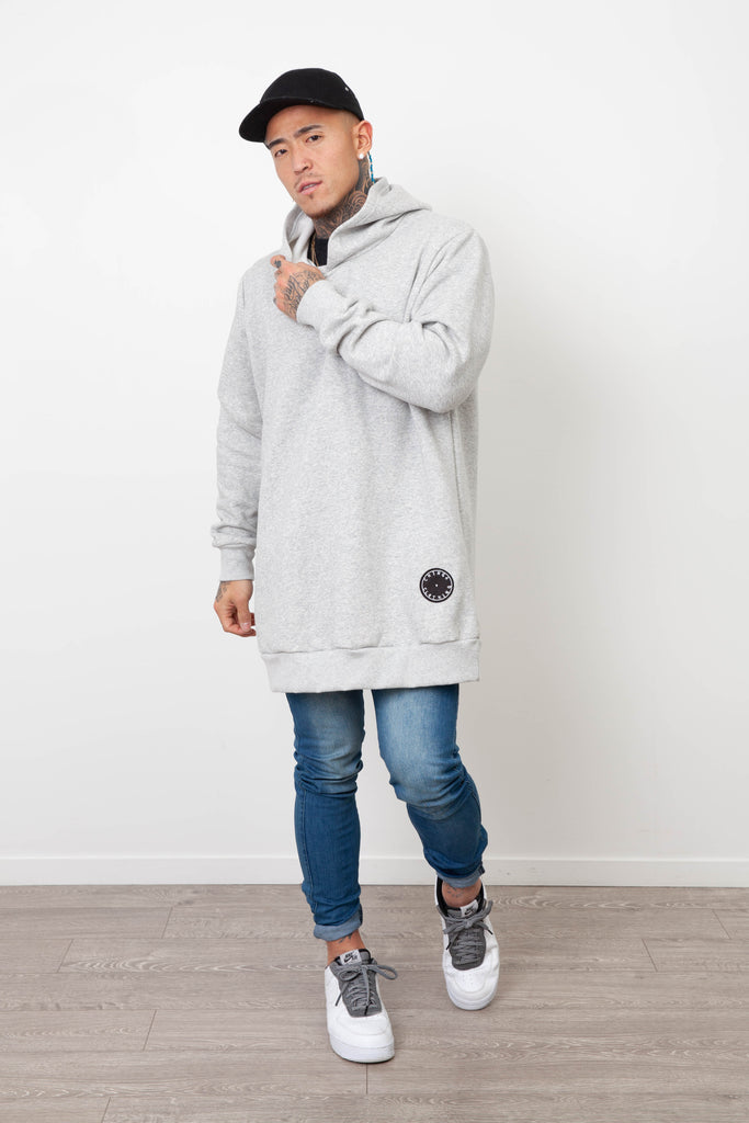 HARBOUR BASIC HOODY GREY