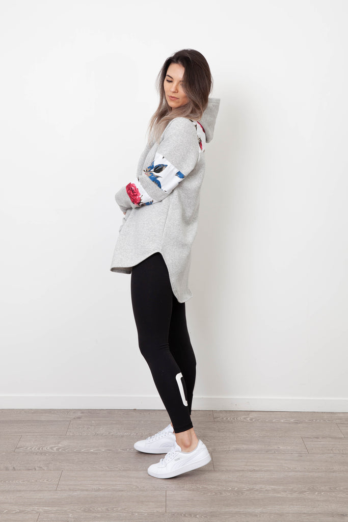 MILA SNOW SHOULDER HOODY
