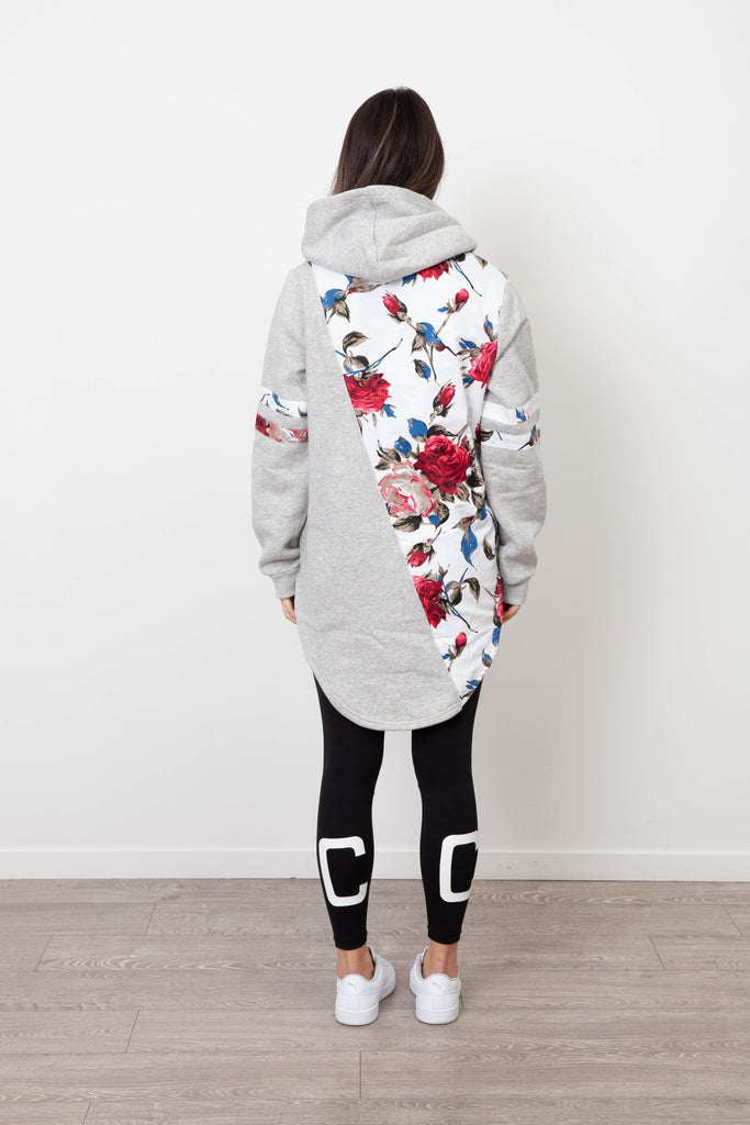 MILA SNOW SIDE HOOD GREY