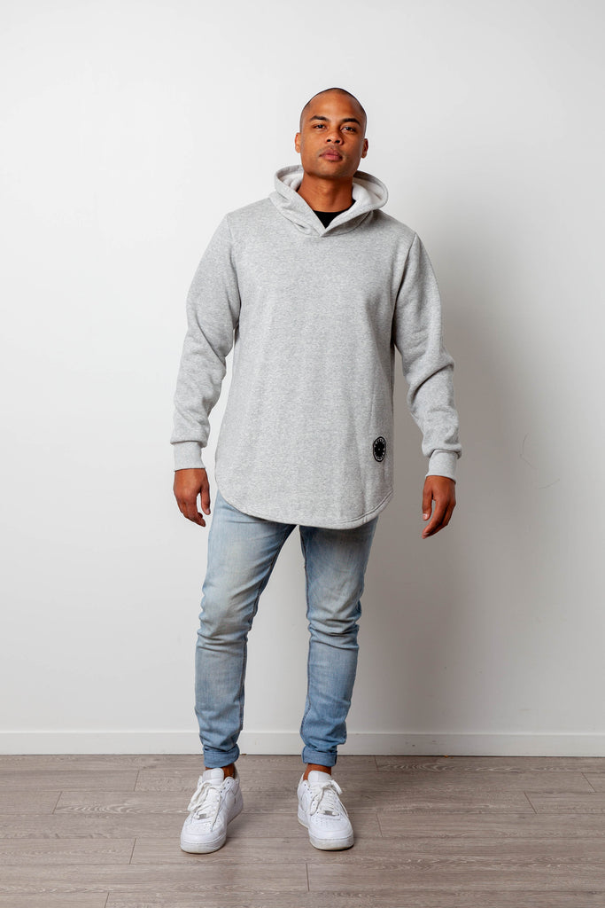 BASIC HOODY GREY MENS (limited edition)