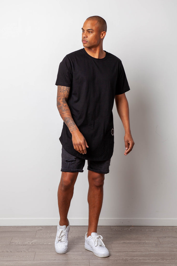 BASIC BLACK MENS TSHIRT