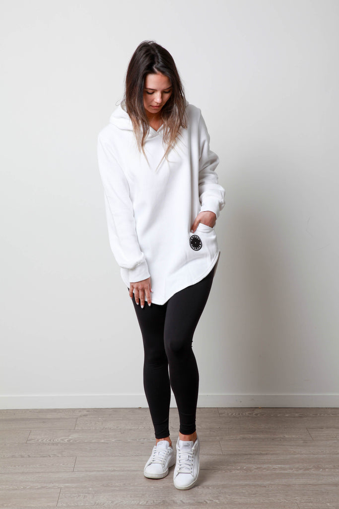 BASIC POCKET HOODY WOMEN'S