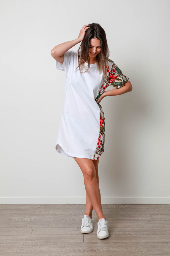 AIMEE SIDE DRESS