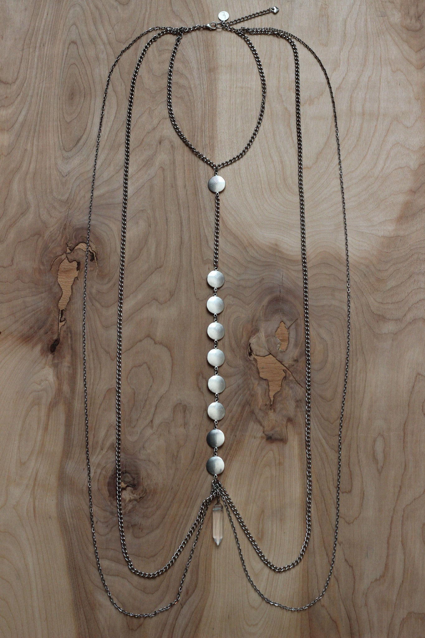 Crystal Drop Body Chain
