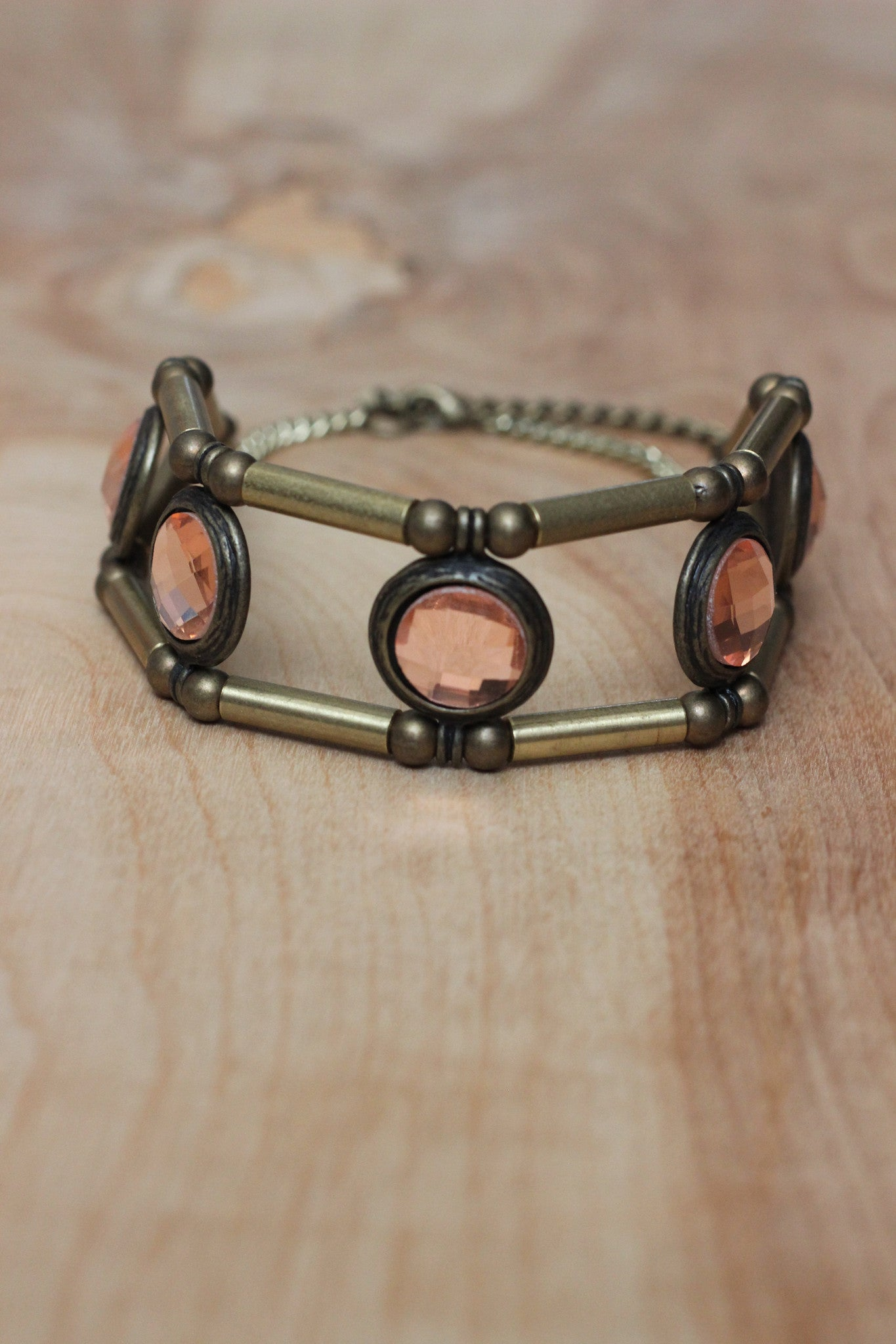 Disco Queen Choker- Bronze