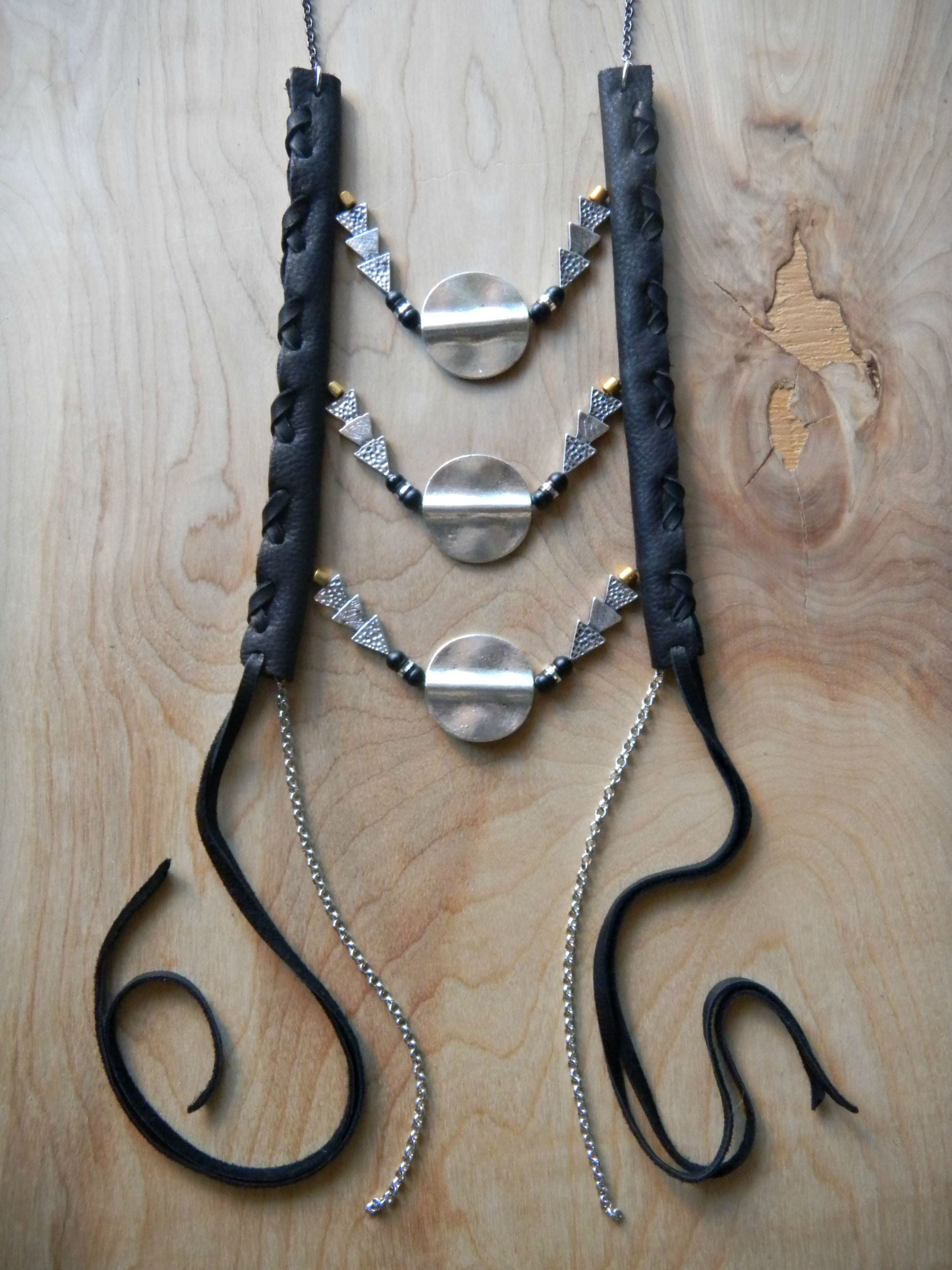 Solid Rocked Necklace