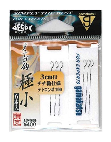 Gamakatsu Tetron Tanago Microfishing Hooks from Japan