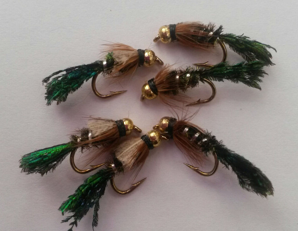 Bead Head Zug Bug Nymph - One Dozen (12) – Angler's Emporium