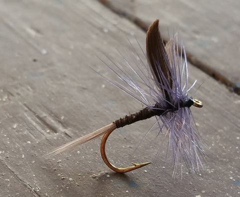 Blue Quill Dry Fly - One Dozen (12)