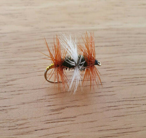 Double Renegade Dry Fly
