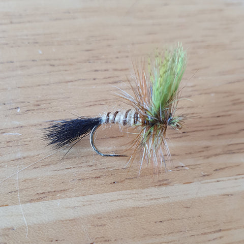 Eastern Green Drake dry fly