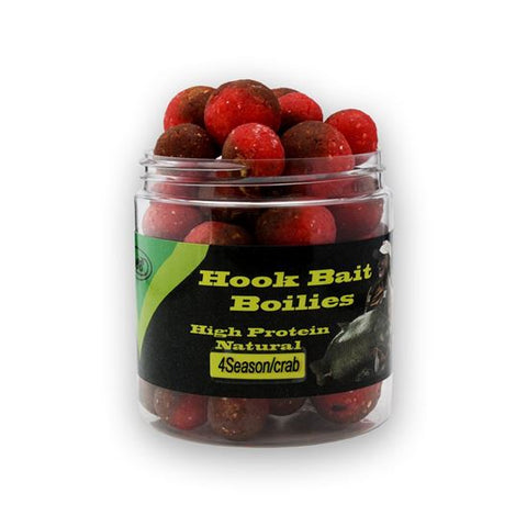 4 Season Crab Hook Bait Boilies