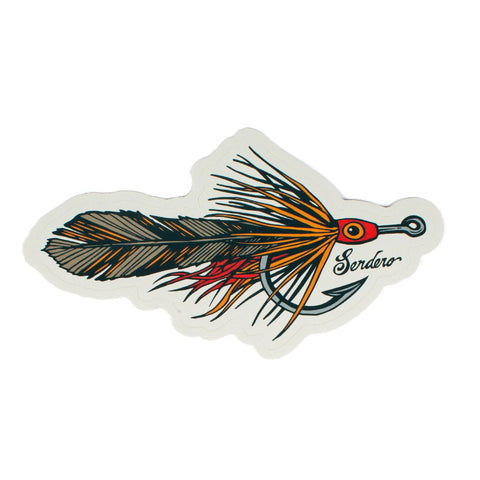 King Pursuit Fly Fishing Sticker