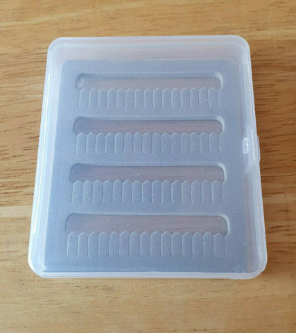 Mini clear foam fly box