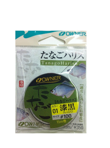 Owner Tanago microfishing line (15 meters #100) from Japan