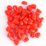 red artificial corn